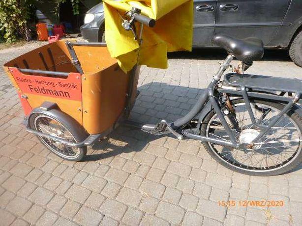 Riksza rowerowa Babboe city / cargo , towarowa elektryczna 36 V