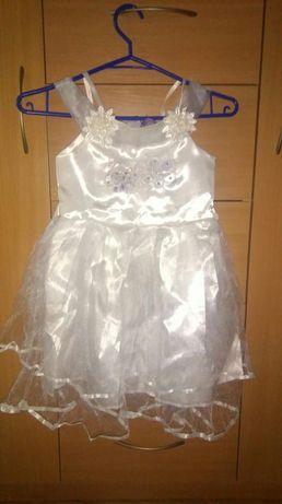 Sukienka dziewczeca 122/128