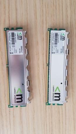 Kit Memória Mushkin 2x 1Gb DDR2 800Mhz