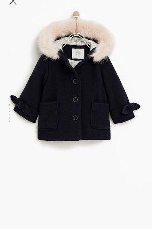 Детское пальто ZARA 9-12 мес
