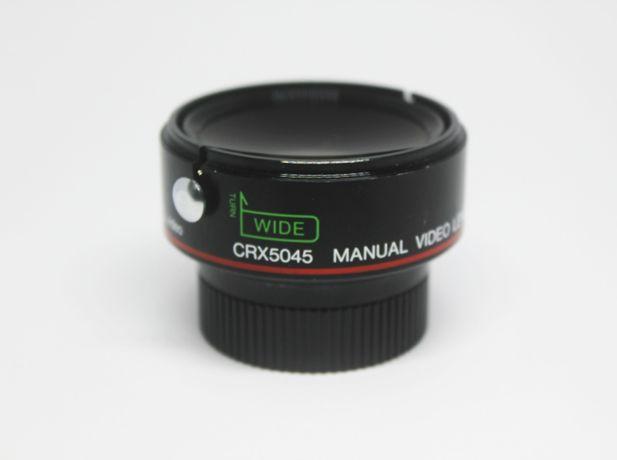 Lente crx5045 manual video W0.7x-T1.5x