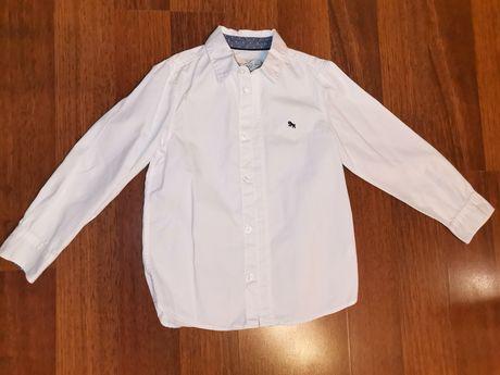 Biała koszula chłopięca, H&M, rozm 122