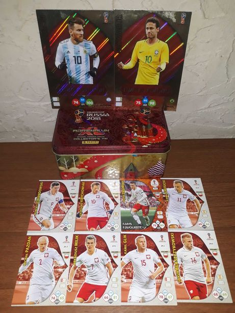 Karty Fifa world cup Russia 2018