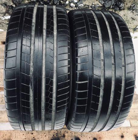 Dunlop 255/35r19 2 шт лето резина шины б/у склад