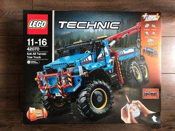 LEGO Technic 42070 Terenowy holownik 6x6 - NOWE
