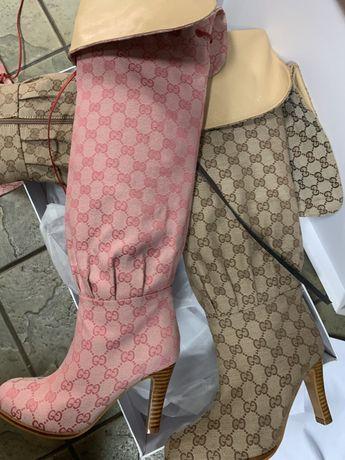 Продам ботфорди ботфорти сапоги чоботи Gucci гучі