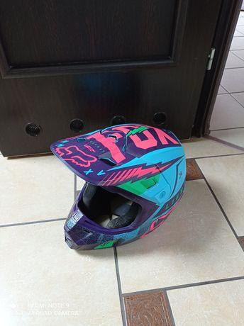 Kask motocross Fox