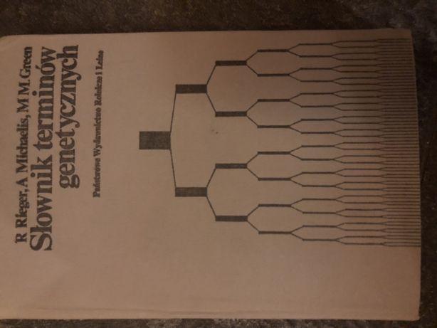 Słownik terminów genetycznych