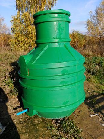 Studnia wodomierzowa 120cm srednicy, 180cm wys. duża z pokrywą