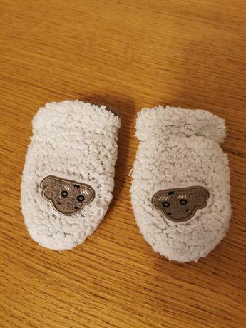 Cieplutkie rękawiczki dla niemowlaka