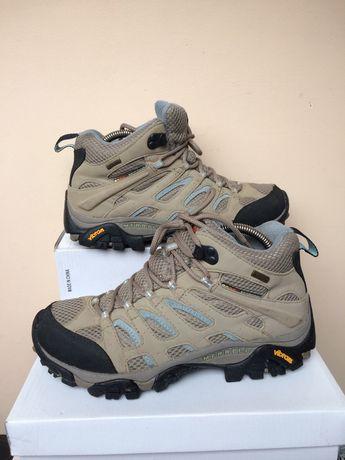 Merrell continuum vibram Gor-Tex Трекинговые кожаные  ботинки 40 р