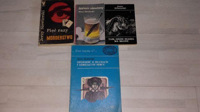 Jerzy Siewierski-4 książki