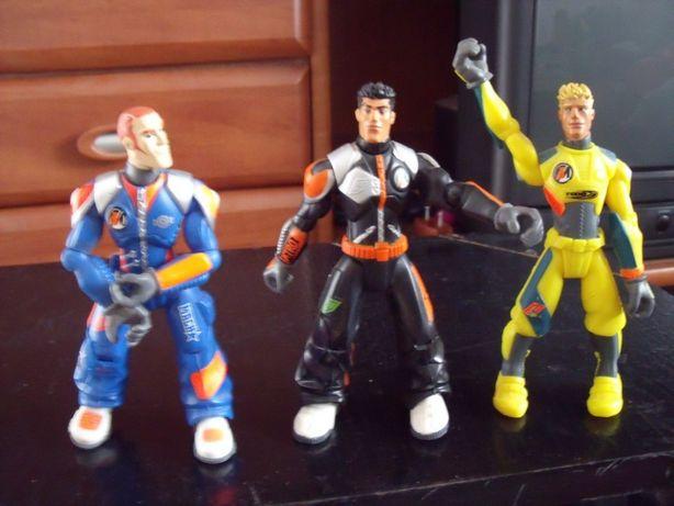 Figurki Action Man orginalne 3 sztuki stan idealny Mattel