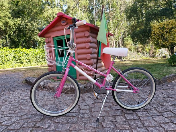 Bicicleta BMX Lady vintage roda 20 personalizada Ninja Custom Bikes