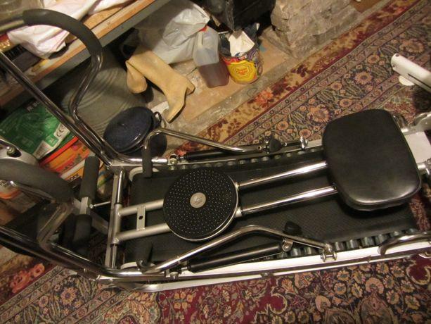 Bieżnia, wioślarz, twister, rowerek przyrząd wielofunkcyjny