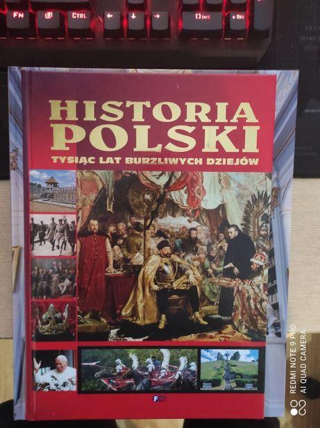 Książka - Historia Polski. Tysiąc lat burzliwych dziejów