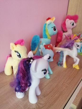 Konie koniki My Little Pony Koniki oryginalne swiecace grajace Zestaw