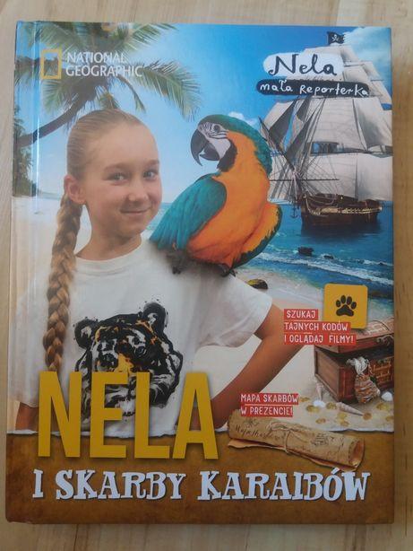 Nela i skarby Karaibów- książka nowa