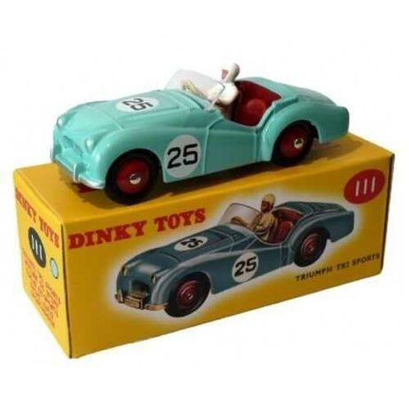 Dinky Toys Atlas Triumph TR2 Sports (verde) NOVO 1:43