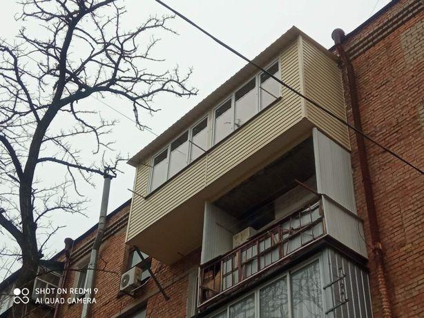 Балконы , лоджии под ключ, Расширение по площади, Пристройки