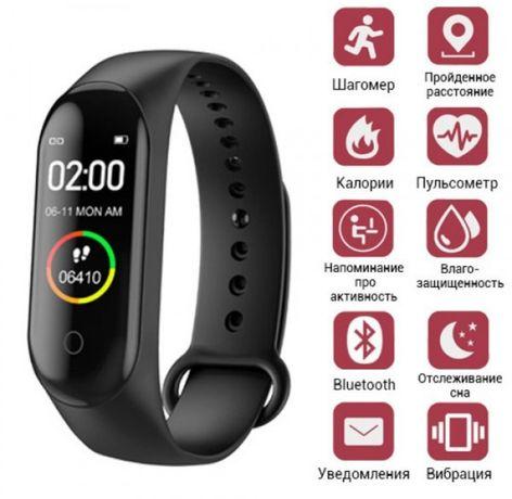 Фитнес-браслет Smart Bracelet M4/ Аналог Xiaomi Mi Band 4