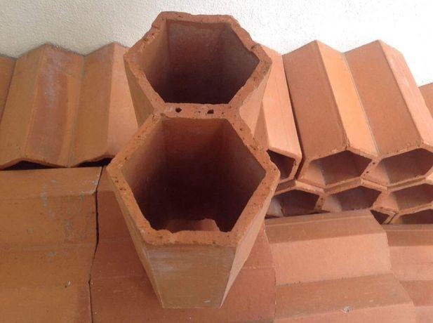 Garrafeira dupla em tijolo