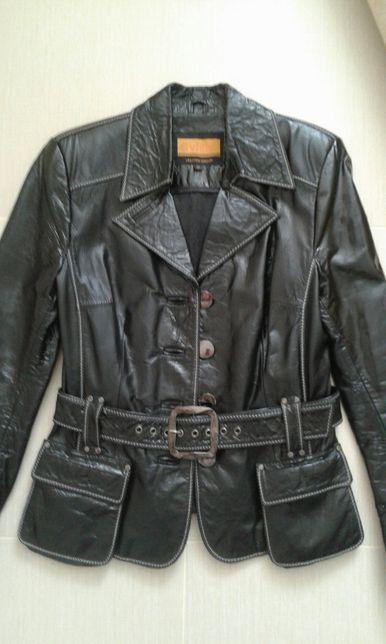 Куртка кожанная, лакированная