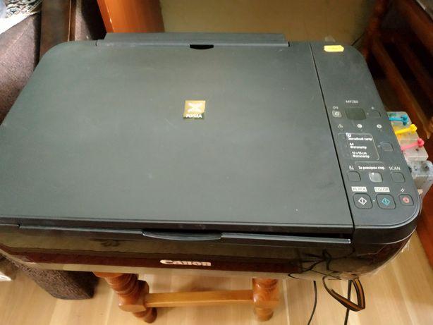 Canon PIXMA 280  ксерокс сканер принтер