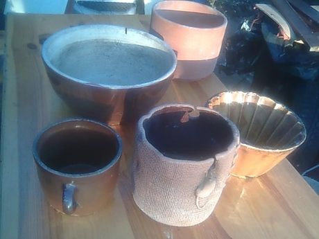 Naczynia kamionkowe ceramiczne