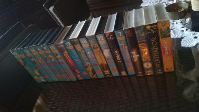 Cassetes Disney e variados