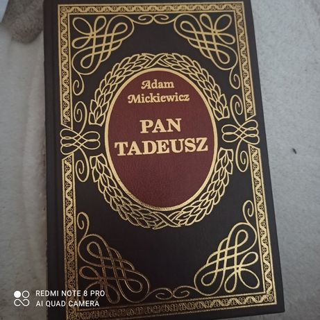 Książka Pan Tadeusz