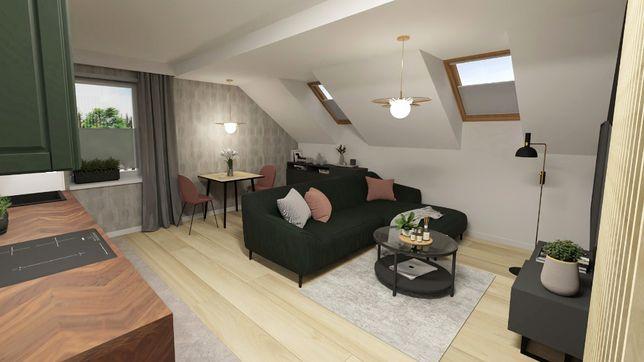 Sprzedam Mieszkanie M3 Pabianice 39,65m2 deweloperskie z projektem