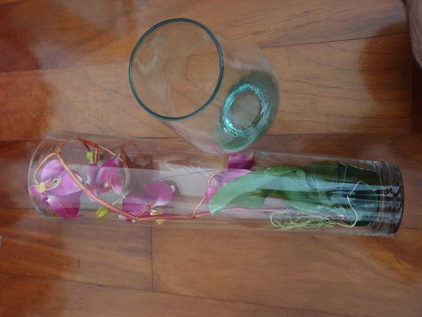 Vasos de Vidro Decorativo