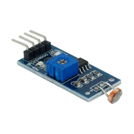 Sensor de Luz LDR arduino