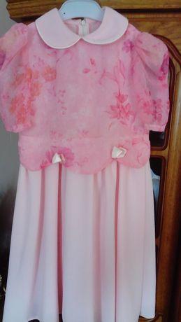 Sukienka dla dziewczynki na rozmiar 116