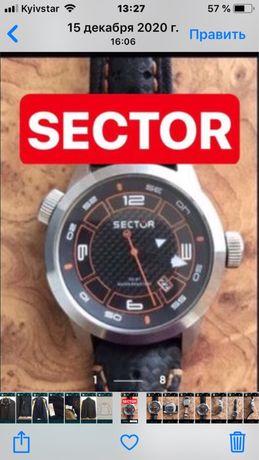 Sector часы. Кварцевые. Швейцария