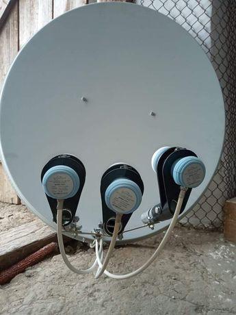 Супутникова антена, тарілка