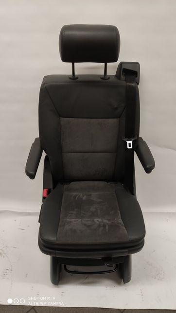Fotel Obracany VW T5 T6 Alcantara Antracyt Multivan