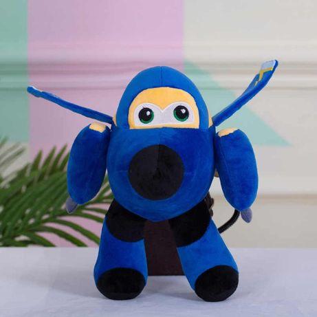Мягкая игрушка Джером Супер Крылья плюшевый самолет на присоске