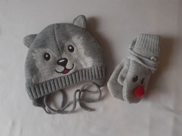 Czapka rękawiczki