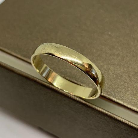 Klasyczna złota obrączka 585 R-27