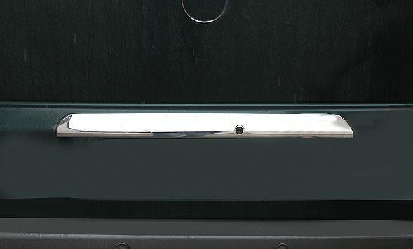 Накладка на багажник над номером Mercedes Vito 639/ 638 (вито) нерж.