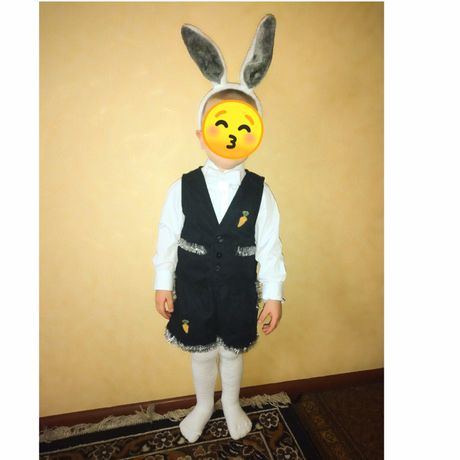 Костюм  зайца,  зайчик