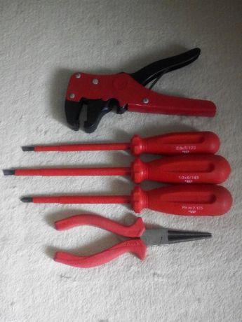 Zestaw narzędzi dla elektryka
