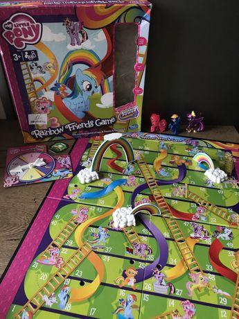 My little pony с фигурками Snakes and Ladders