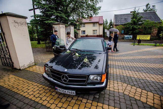 Mercedes w126 sec do ślubu