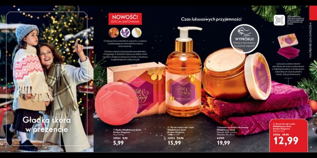 Zestaw świąteczny kosmetyków marki Oriflame