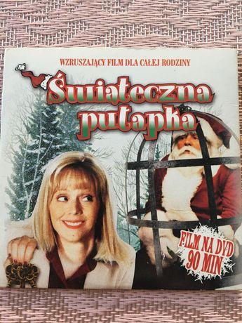 Płyta DVD Świąteczna pułapka