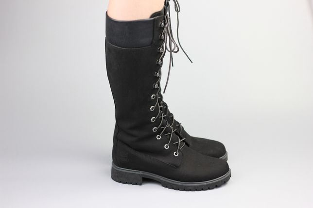 Кожаные демисезонные ботинки Timberland Waterproof dr.martens