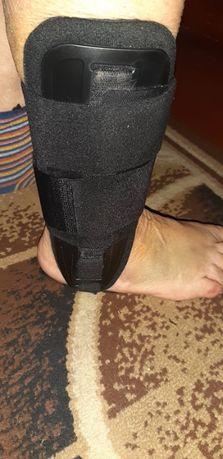 Фиксатор голеностопа ортопедический, вместо гипса!